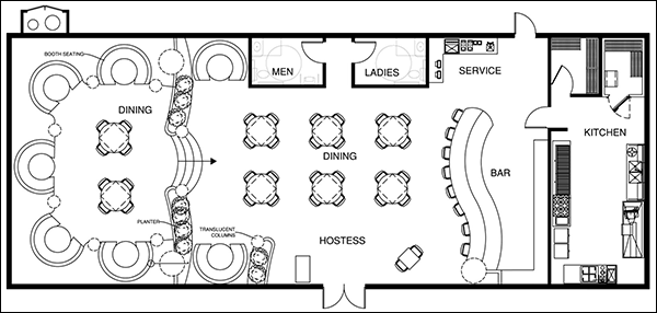 restaurant floor plan maker - Milbe